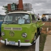 Kiwi (#1401) - 1970 Hippie Green Bus (Bay Window) Single Cab