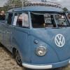 Road Warrior (#1409) - 1959 Dove Blue Bus (Split Window) Double Cab