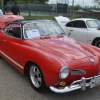#1506 - 1968 red / black Karmann Ghia