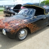 wicked   (#1602) - 1965 black Karmann Ghia Convertible (black with true flames)