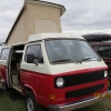 Rosinante (#2507) - 1985 Red/White Vanagon Camper (1985 Westy Full Camper)