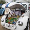 Herbie (#0601) - 1969 White w/ blue and red stripe Beetle - Late Model/Super (Herbie tribute car)