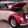 #0705 - 1967 Red / White Beetle Convertible