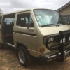 Dolph (#2504) - 1986 gold bronze Vanagon Camper (4x4 syncro)