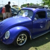 #0112 - 1956 Purple Beetle - Split/Oval