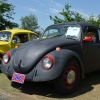 #0504 - 1968 Black Beetle (black and red 68 bug)