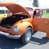 Super Beetle VW (#0612) - 1972 Orange Beetle - Late Model/Super