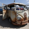 #1006 - 1966 patina / white Bus - Split Window