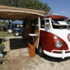 Bevo (#1203) - 1965 Orange/White Bus - Split Window Camper