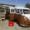 Chocolata (#1206) - 1966 White and brown Bus - Split Window Camper