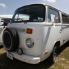#1304 - 1974 white Bus - Bay Window Camper