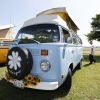 Wanda (#1315) - 1977 Baby blue Bus - Bay Window Camper