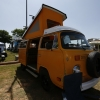 #1316 - 1976 chrome yellow Bus - Bay Window Camper
