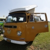 Bahamian Monkey (#1320) - 1969 Bahama Yellow Bus - Bay Window Camper