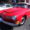 Old Betty  (#1605) - 1973 red Karmann Ghia Convertible