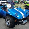 Dr. Beat (#2006) - 1968 Sparkle Blue w/ White Cobra Stripes Fiberglass Buggy Convertible