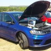 Blue Thunder (#2302) - 2015 Luzid Blue Golf Fastback