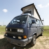#2510 - 1990 Blue Vanagon Camper
