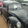 Lola (#0101) - 1956 Black Beetle - Split/Oval Single Cab (1956 Black Oval Window Beetle)