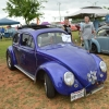 #0103 - 1956 purple Beetle - Split/Oval