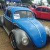 BUCKWHEAT JOHNSON (#0111) - 1957 BLUE AND GRAY Beetle - Split/Oval