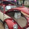 Ladybug (#0309) - 1961 Red metallic with ivory center Beetle