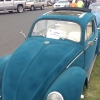 Fuzzy Car (#0314) - 1962 Blue/Green Beetle