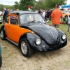 vocho (#0605) - 1972 black and orange Beetle Single Cab