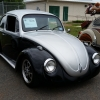 #0618 - 1970 Black and Silver Beetle