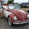prissy (#0802) - 1966 inca red and white Beetle Convertible