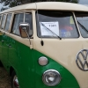 Fletcher (#1301) - 1965 Green and tan Bus - Split Window Camper
