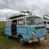 #1403 - 1971 BLUE Bus - Bay Window Camper