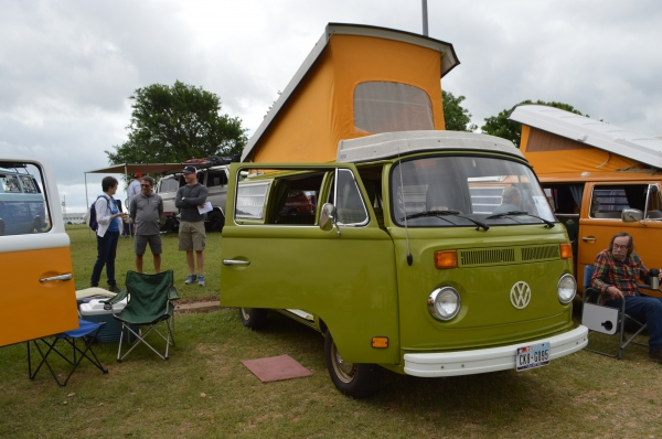 Kermit (#1411) - 1978 Green Bus - Bay Window Camper