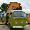 #1417 - 1977 Green Bus - Bay Window Camper