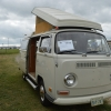 #1419 - 1970 Pearl White Bus - Bay Window Camper