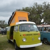 #1425 - 1976 Green Bus - Bay Window Camper (1976 Deluxe Westfalia vw bus)