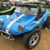 FKN-MUVN (#2009) - 1968 HOUSE OF COLOR BLUE w/ WHITE COBRA STRIPE Fiberglass Buggy Convertible