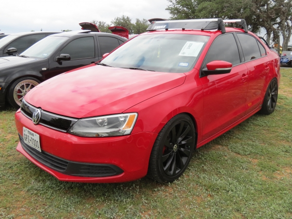 Scarlet (#2402) - 2014 Red Jetta