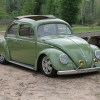 #0107 - 1956 Green Beetle (Split/Oval)