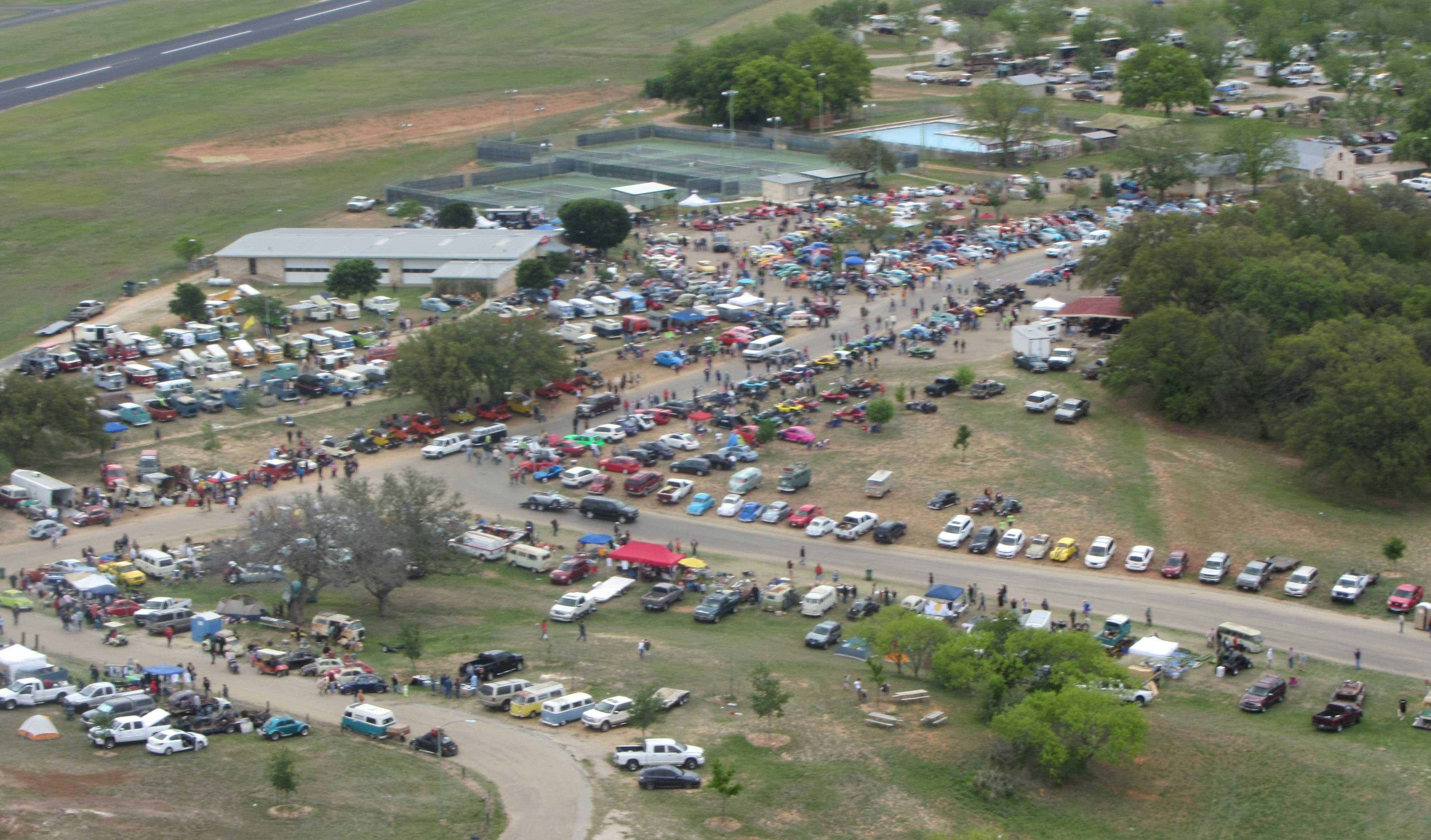 The Biggest Classic Volkswagen Show In Texas Texas Vw